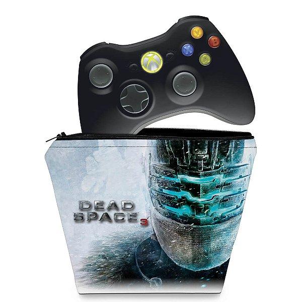 Capa Xbox 360 Controle Case - Dead Space 3