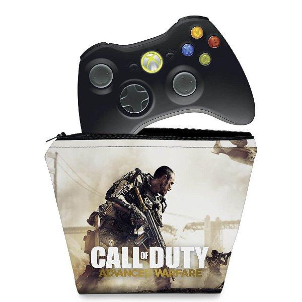 Capa Xbox 360 Controle Case - Call Of Duty Modern Warfare