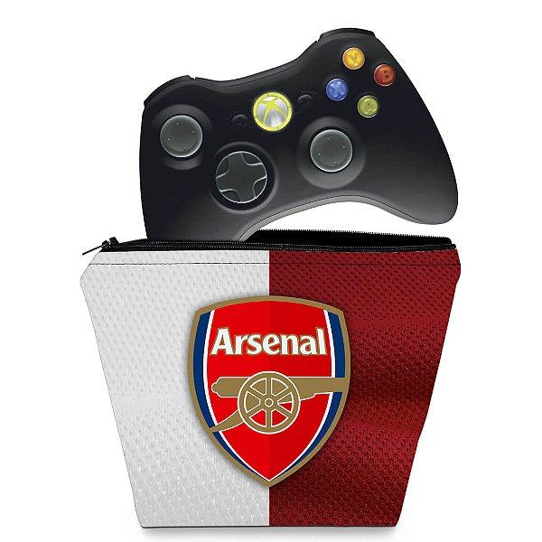 Capa Xbox 360 Controle Case - Arsenal Football Club