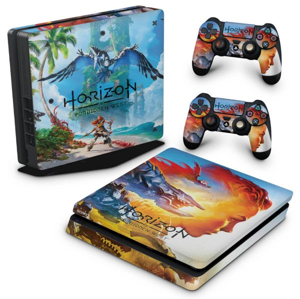 PS4 Slim Skin - Horizon Forbidden West