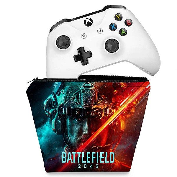 Capa Xbox One Controle Case - Battlefield 2042