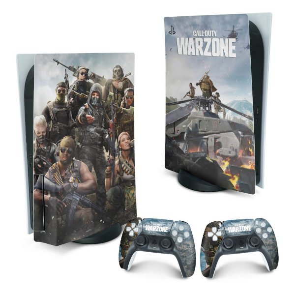 PS5 Skin - Call of Duty Warzone