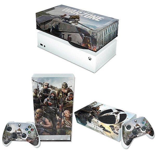 KIT Xbox Series S Skin e Capa Anti Poeira - Call of Duty Warzone