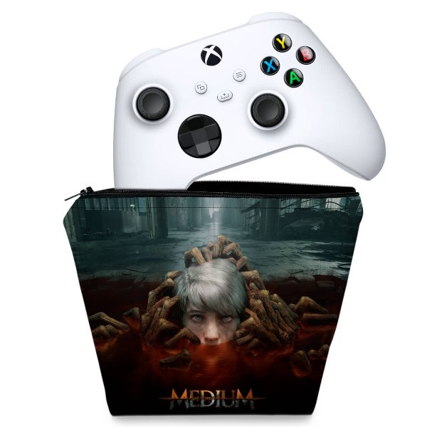 Capa Xbox Series S X Controle - The Medium