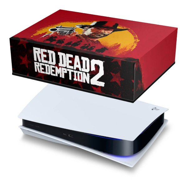 PS5 Capa Anti Poeira - Red Dead Redemption 2