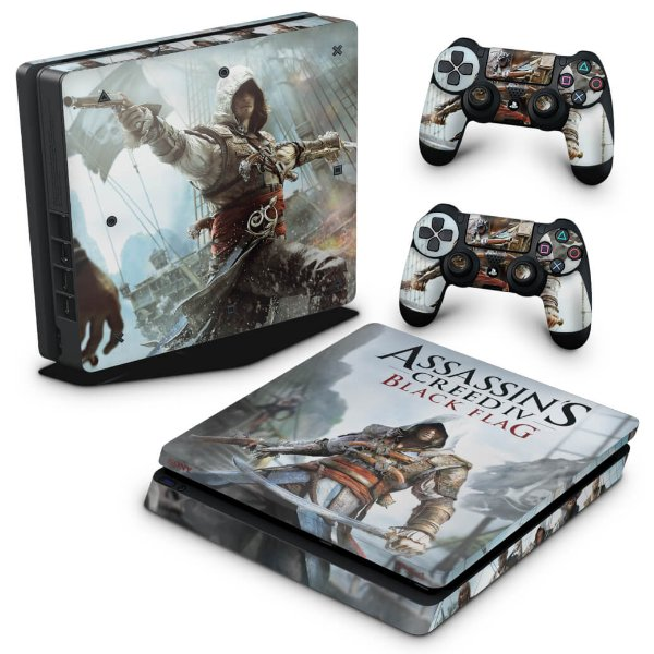 PS4 Slim Skin - Assassins Creed Black Flag