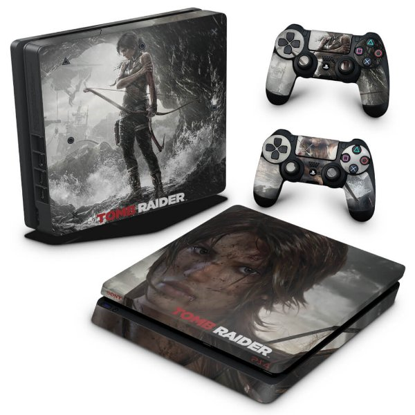PS4 Slim Skin - Tomb Raider