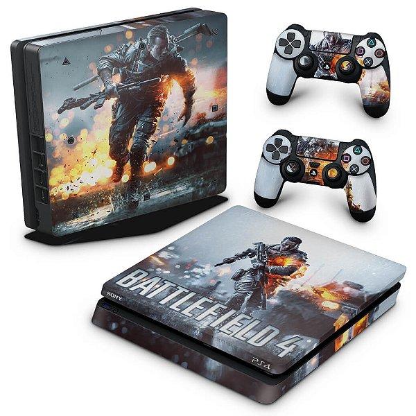 PS4 Slim Skin - Battlefield 4