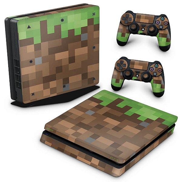 PS4 Slim Skin - Minecraft
