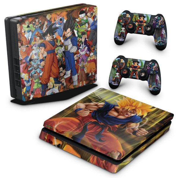 PS4 Slim Skin - Dragon Ball Z #A