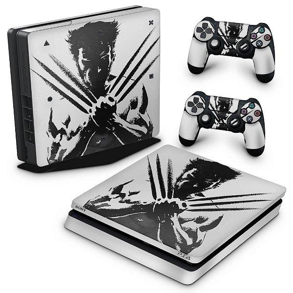 PS4 Slim Skin - Wolverine - X Men