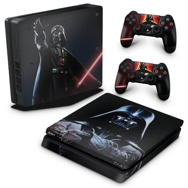 PS4 Slim Skin - Star Wars - Darth Vader