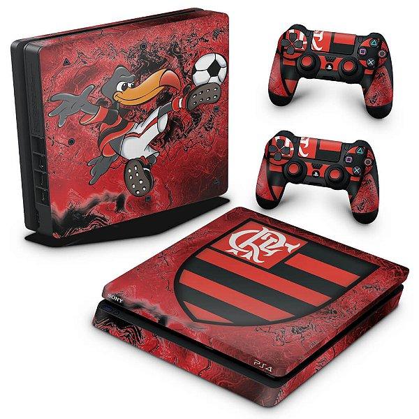 PS4 Slim Skin - Flamengo