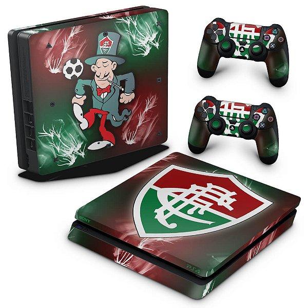 PS4 Slim Skin - Fluminense