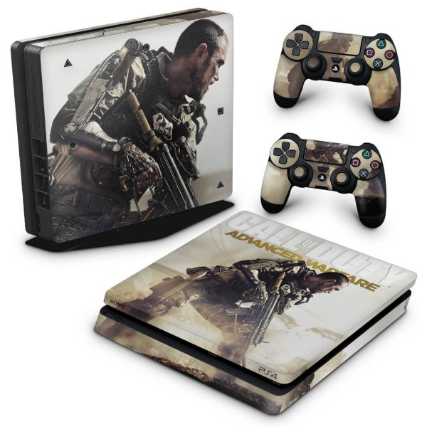 PS4 Slim Skin - Call of Duty Advanced Warfare