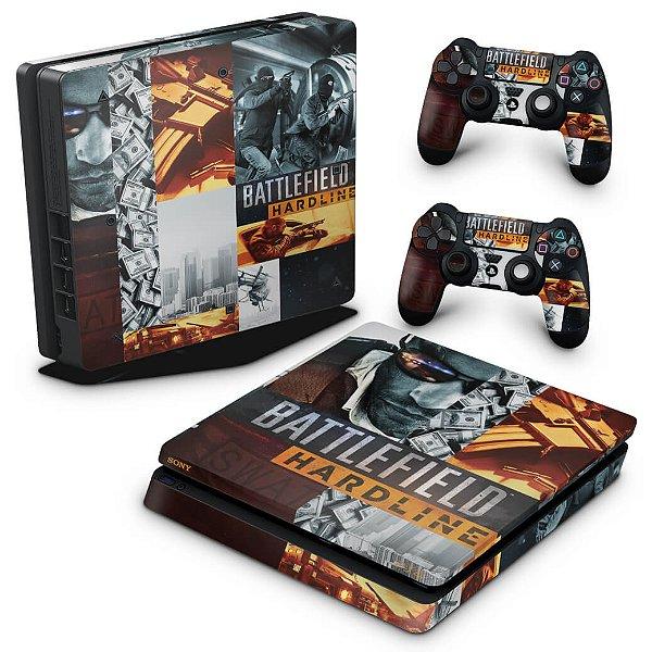 PS4 Slim Skin - Battlefield Hardline