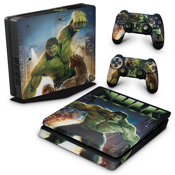 PS4 Slim Skin - Hulk