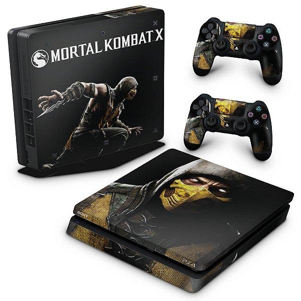 PS4 Slim Skin - Mortal Kombat X
