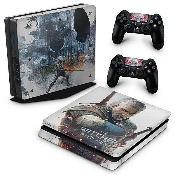 PS4 Slim Skin - The Witcher #B