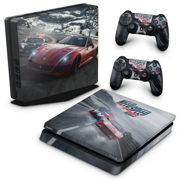 PS4 Slim Skin - Need for Speed Rivals