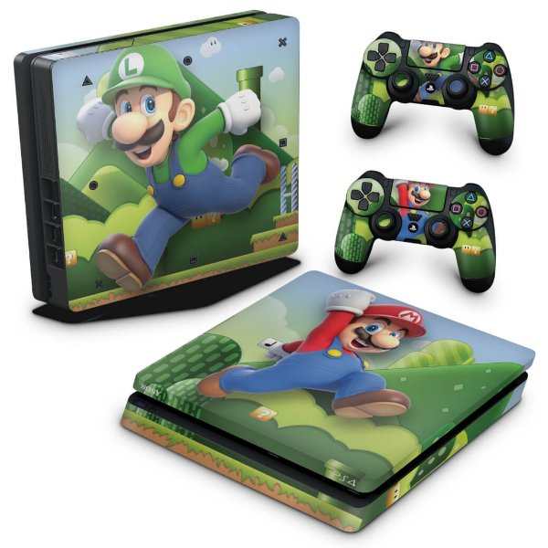 PS4 Slim Skin - Super Mario Bros