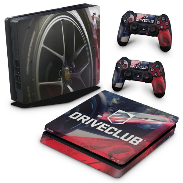 PS4 Slim Skin - DriveClub