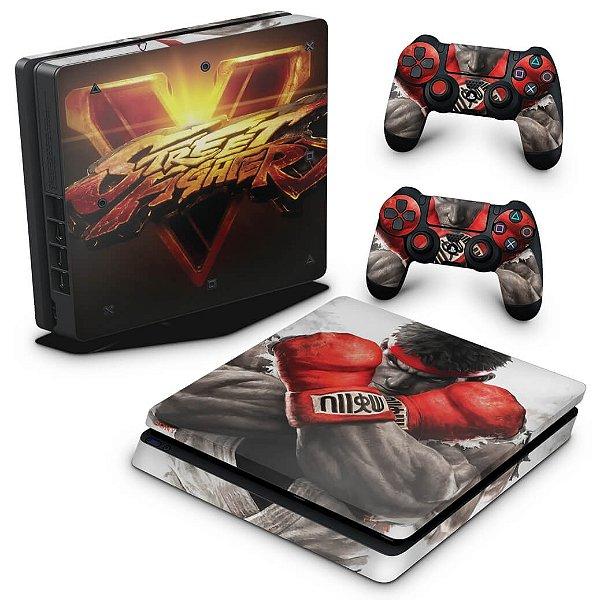 PS4 Slim Skin - Street Fighter V