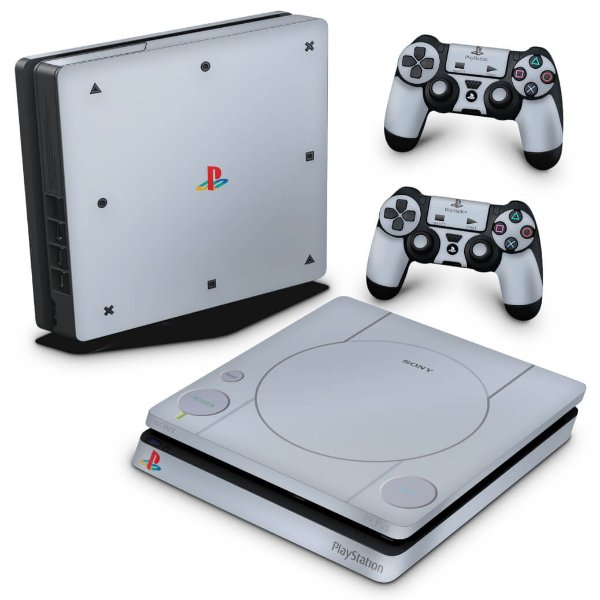 PS4 Slim Skin - Sony Playstation 1
