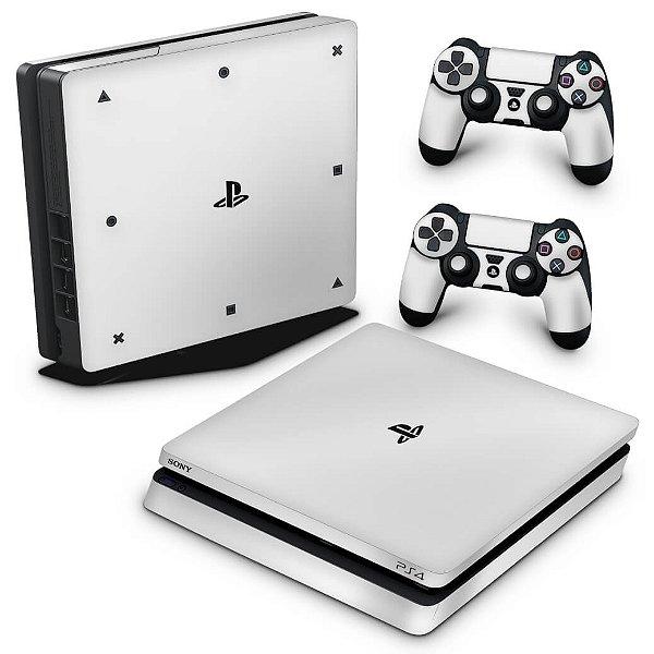 PS4 Slim Skin - Branco