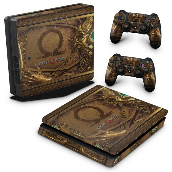 PS4 Slim Skin - Pandora's Box God Of War
