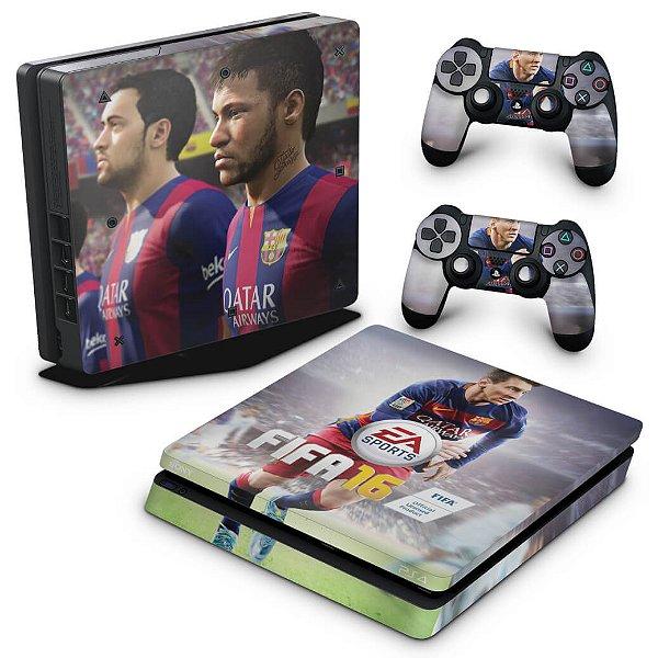 PS4 Slim Skin - Fifa 16