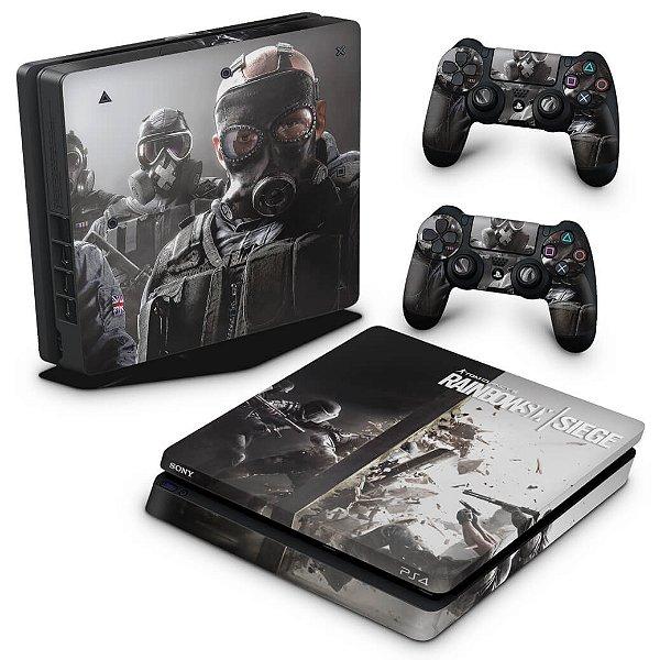 PS4 Slim Skin - Tom Clancy's Rainbow Six Siege