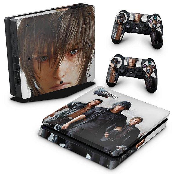 PS4 Slim Skin - Final Fantasy XV #B
