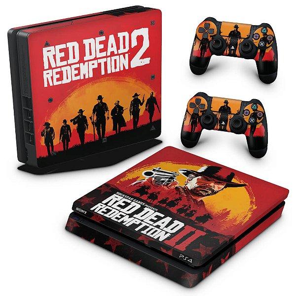 PS4 Slim Skin - Red Dead Redemption 2