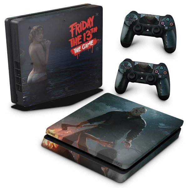 PS4 Slim Skin - Friday the 13th The game Sexta-Feira 13