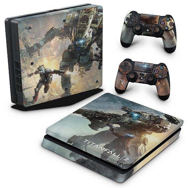PS4 Slim Skin - Titanfall 2 #b