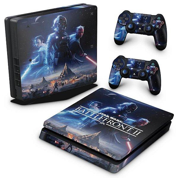 PS4 Slim Skin - Star Wars - Battlefront 2