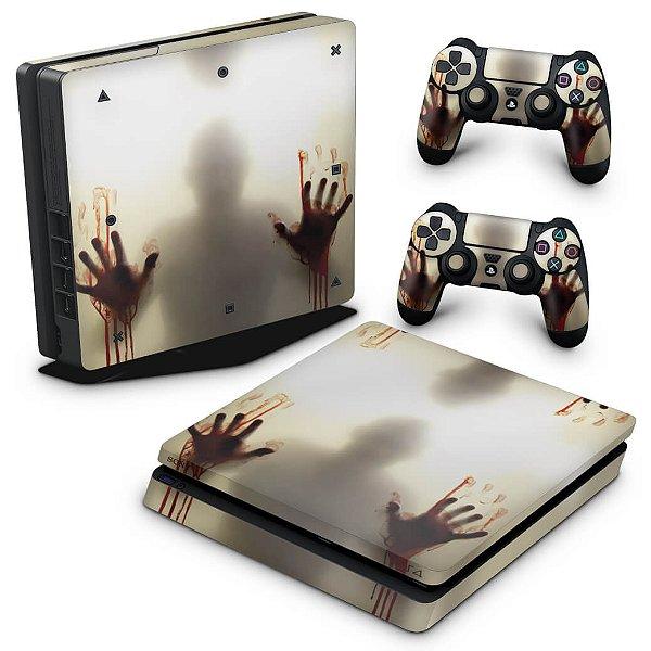 PS4 Slim Skin - Fear The Walking Dead