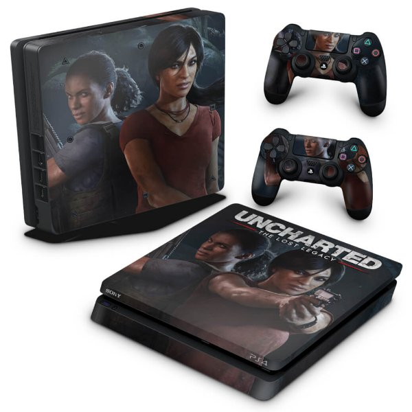 PS4 Slim Skin - Uncharted Lost Legacy