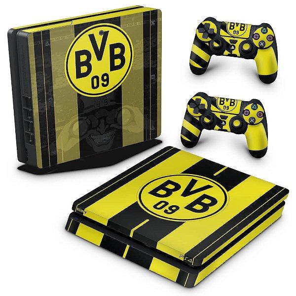 PS4 Slim Skin - Borussia Dortmund BVB 09