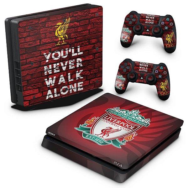 PS4 Slim Skin - Liverpool