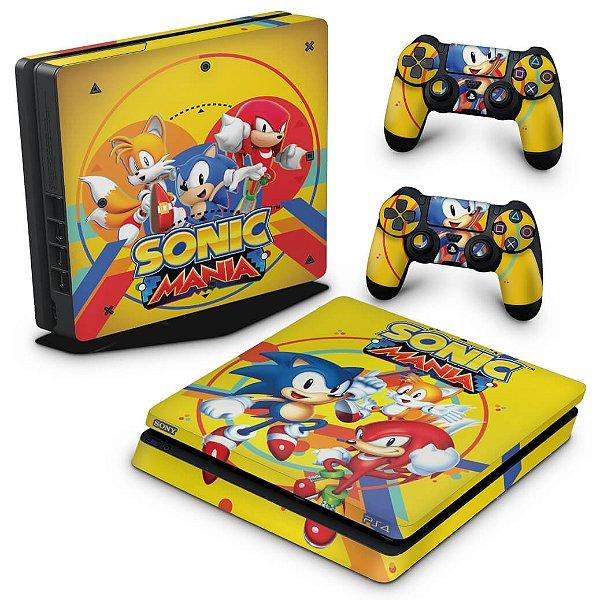 PS4 Slim Skin - Sonic Mania