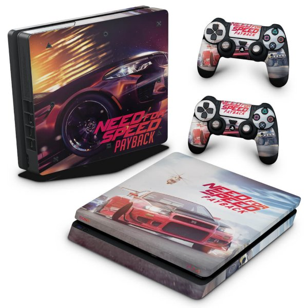 PS4 Slim Skin - Need For Speed Payback