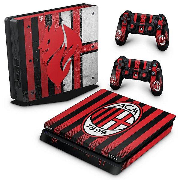PS4 Slim Skin - AC Milan