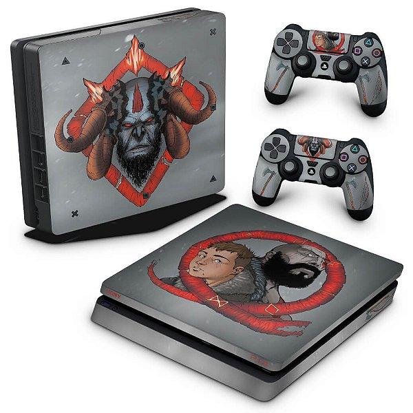 PS4 Slim Skin - God of War 4