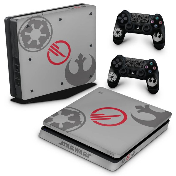 PS4 Slim Skin - Star Wars Battlefront 2 Edition