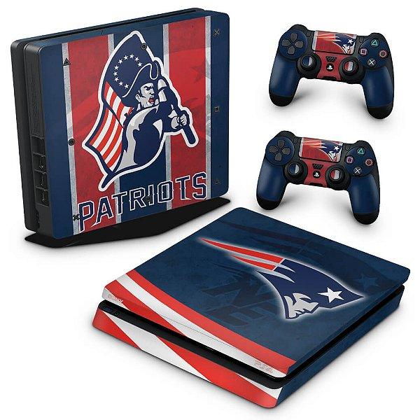 PS4 Slim Skin - New England Patriots NFL