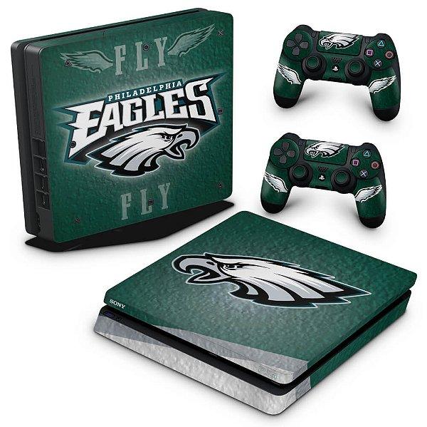 PS4 Slim Skin - Philadelphia Eagles NFL