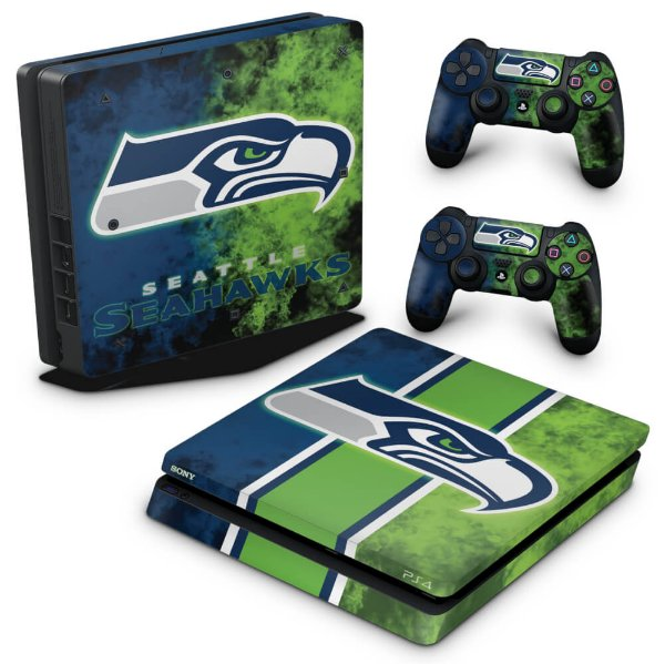 PS4 Slim Skin - Seattle Seahawks - NFL