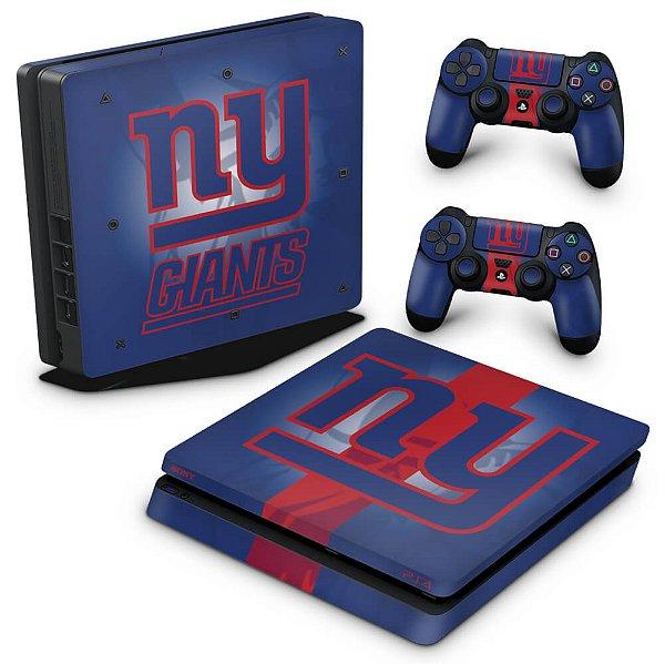 PS4 Slim Skin - New York Giants - NFL